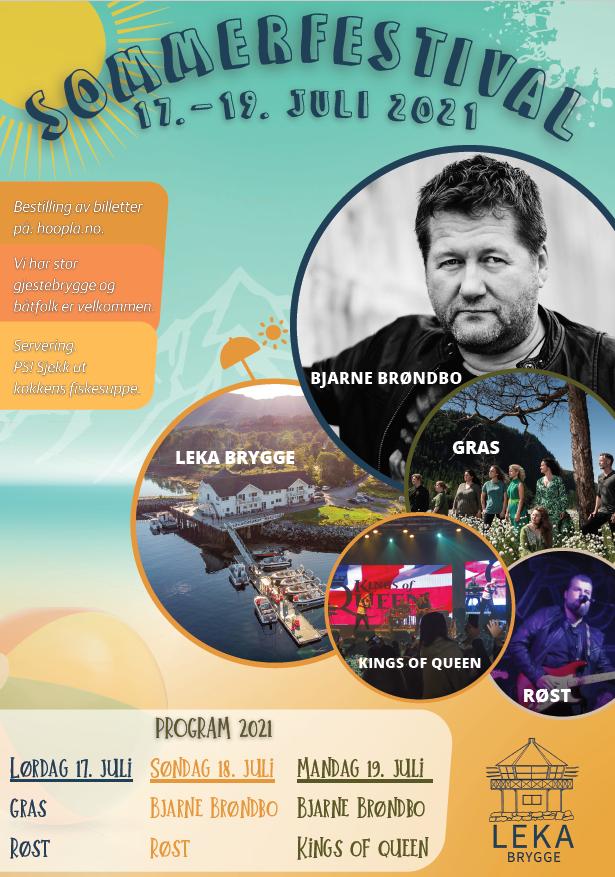 Sommerfestival med Bjarne og flere!